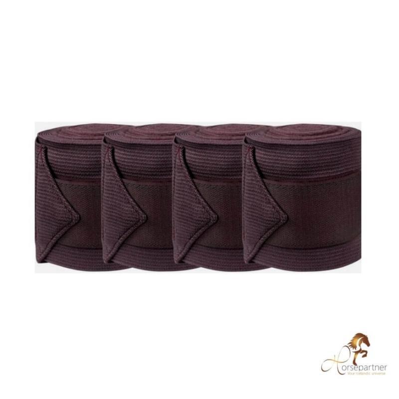 "Bandage ""Combi"" Elastik/Fleece | Brun"